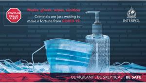 Interpol Infographic on the dangers of fake medicines and medical supplies
